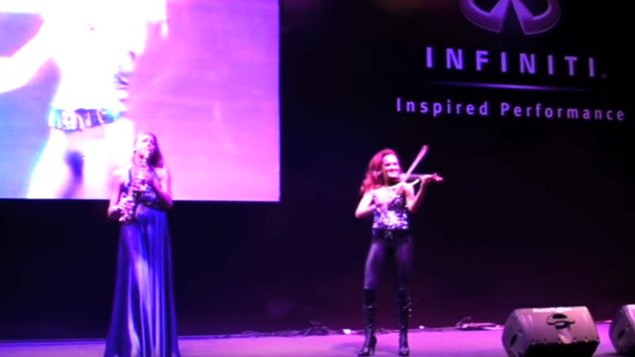 Canan Anderson ve Saksafon Show Infinity Event