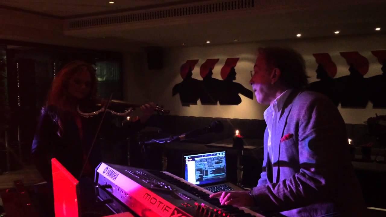 Canan Anderson& Aşkın Arsunan konser öncesi zevki